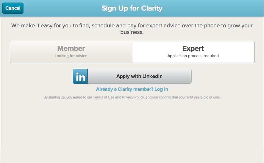 Clarity — On Demand Business Advice